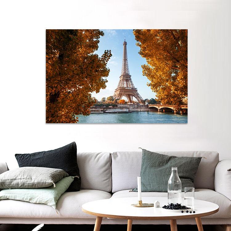 3D Himmel Eiffelturm Baum 7554 Fototapeten Wandbild BildTapete AJSTORE DE Lemon