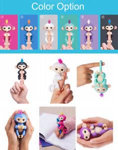 RECHARGEABLE-Zoe-Fun-Finger-Monkey-Interactive-Touch-Motion-Finger-Pet-50-mode