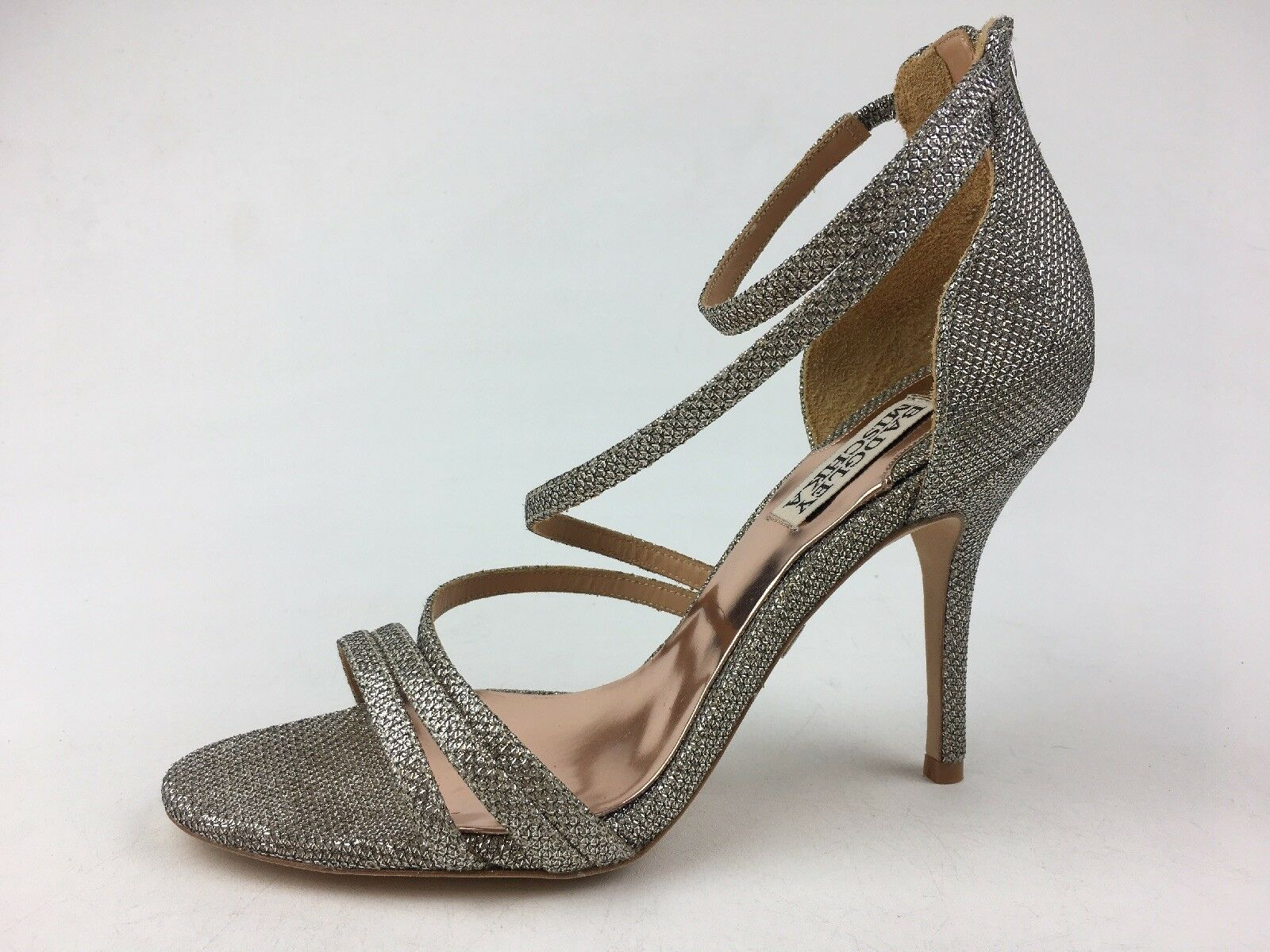 autorizzazione ufficiale Badgley Mischka Landmark Heel Sandals - Donna  Dimensione 7.5 7.5 7.5 M, Platino 1268  vendita economica