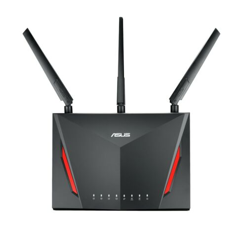 ASUS RT-AC86U 802.11AC 2900 Dual Band Wireless Gaming Router 90IG0401-BA1000
