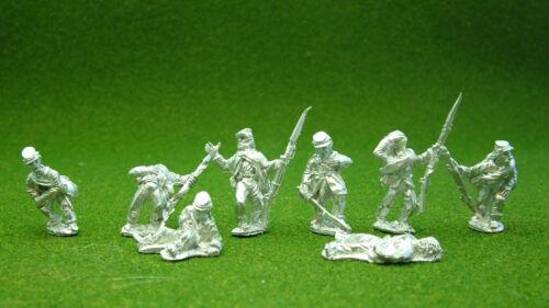1st Corps 28mm American Civil War Casualties Kepi historical.unpainted,