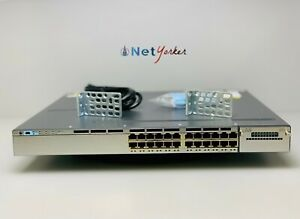 Cisco-WS-C3750X-24T-E-24-Port-3750X-Gigabit-Switch-1-YEAR-WARRANTY