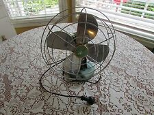 Vintage ZERO Oscillating Electric Fan McGraw Mid Century Working