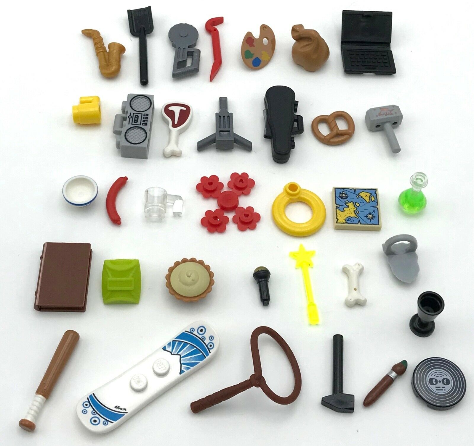 Minifig Utensil LEGO PICK YOUR COLOR !! Tool // Crowbar