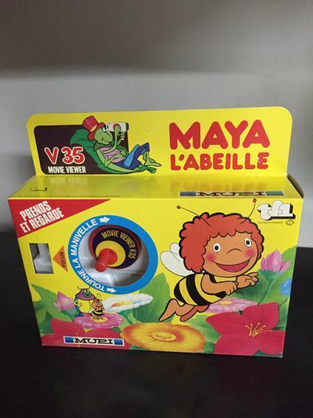 Mupi APE MAYA Maia l'Abeille sight Handle V35 + Cassette n. 4 MIB, 1980