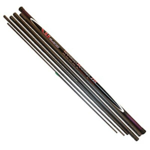 World Class Carbon 7m Take Apart Margin Hit N Hold Pole Rated 20 Elasticated