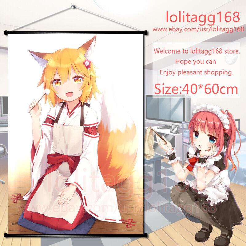 Hot Anime Sewayaki Kitsune no Senko-san Wall Scroll Poster Home Decor 60*90CM#N2