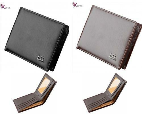 Mens Luxury Soft Quality Slim Leather Wallet Credit Card Holder Purse