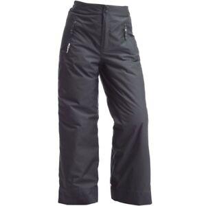 Wed-039-ze-by-Decathlon-Boys-Grey-First-Heat-Waterproof-Ski-Snow-Pants
