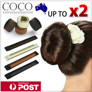 Kids' Clothing, Shoes & Accs Girls' Accessories Cheap Price Women's Magic Hair Bun Snap Styling Donut Former French Twist Band Maker Tool Au
