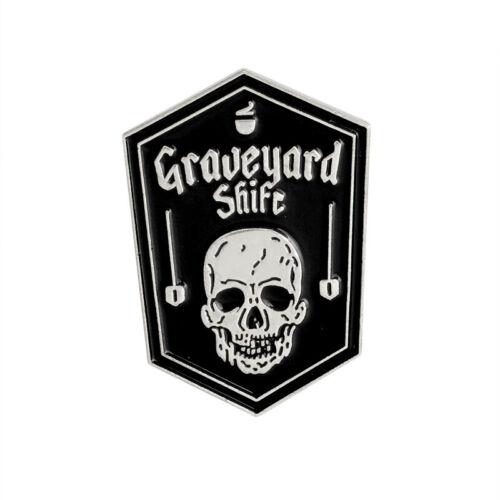 Friedhof Pirat Sch?del Piercing Brustpin Brosche Pins Revers Corsage Schmuck