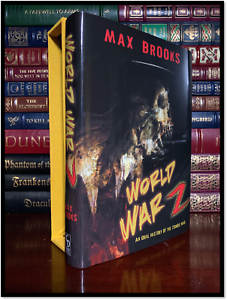 World-War-Z-SIGNED-by-MAX-BROOKS-New-Cemetery-Dance-Limited-Slipcased-Hardback