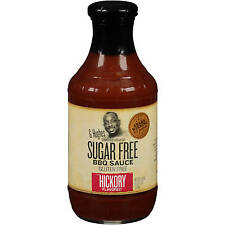 G Hughes Smokehouse Sugar Free Hickory Flavored BBQ Sauce 18 oz Free Shipping