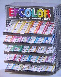 Efcolor Farbschmelzpulver Emaillieren 10ml härtet bei 150 Grad SERAJOSY