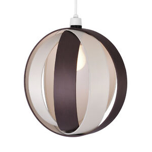 Large-Modern-Cream-amp-Brown-Cocoon-Ceiling-Light-Pendant-Lamp-Shade-Lampshade