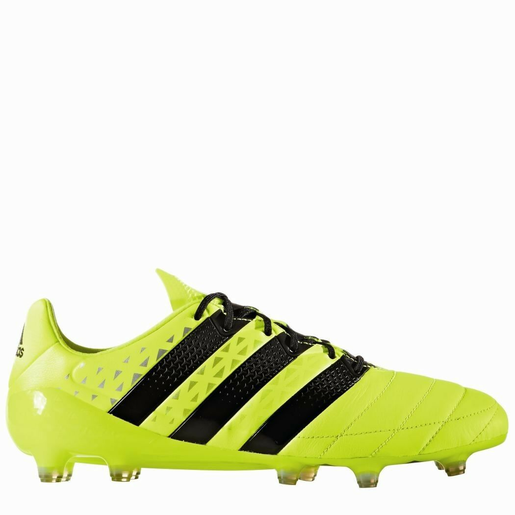 Adidas ACE 16.1 FG Leather Leder Speed of Light Light Light Pack Fußballschuhe gelb 56791a