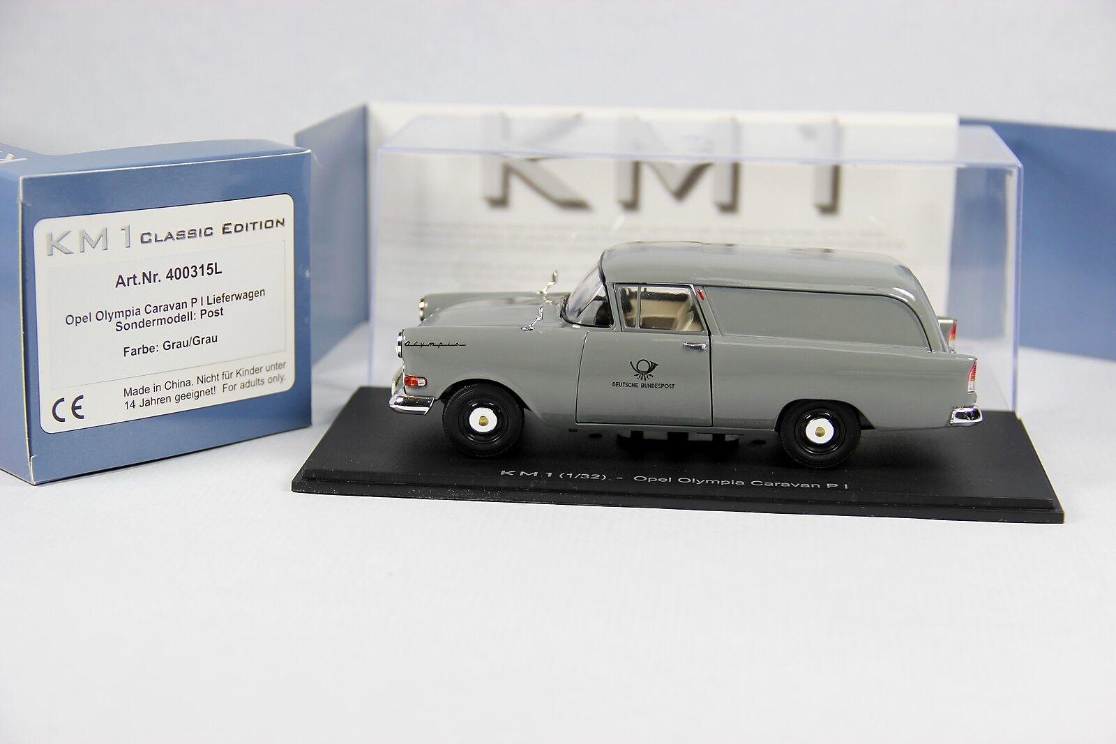 Km1-opel oylmpia Caravan p1-colección post - 1 32 - Art. nº 400315 L