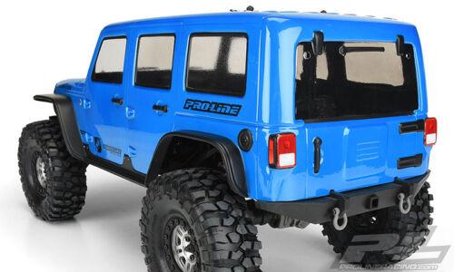 PROLINE PRO-LINE Jeep Wrangler Unlimited Rubicon a quadri chiaramente TRAXXAS trx-4 3502-00