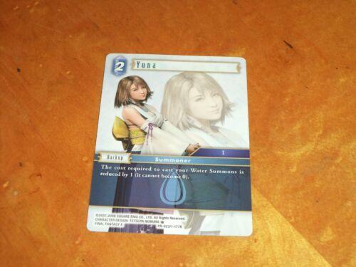 Final Fantasy TCG CCG Opus Exclusive Promo Card NonFoil Yuna PR-023//1-177R