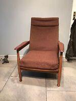 Georg Freijer/Guy Rogers Manhattan 1960s retro vintage  chair armchair reclining