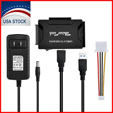 """SATA/PATA/IDE to USB 3.0 Adapter Converter Cable for Hard Drive Disk 2.5"""" 3.5"""""""