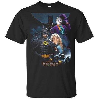 Batman 80s Superhero Joker Movie Fan T Shirt