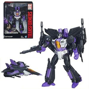 Figurine articulée Skywarp de la classe de chef des Combiner Wars de Transformers Generations