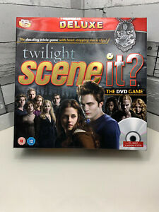 Twilight Scene It Deluxe The DVD Game Team Edward Team Jacob