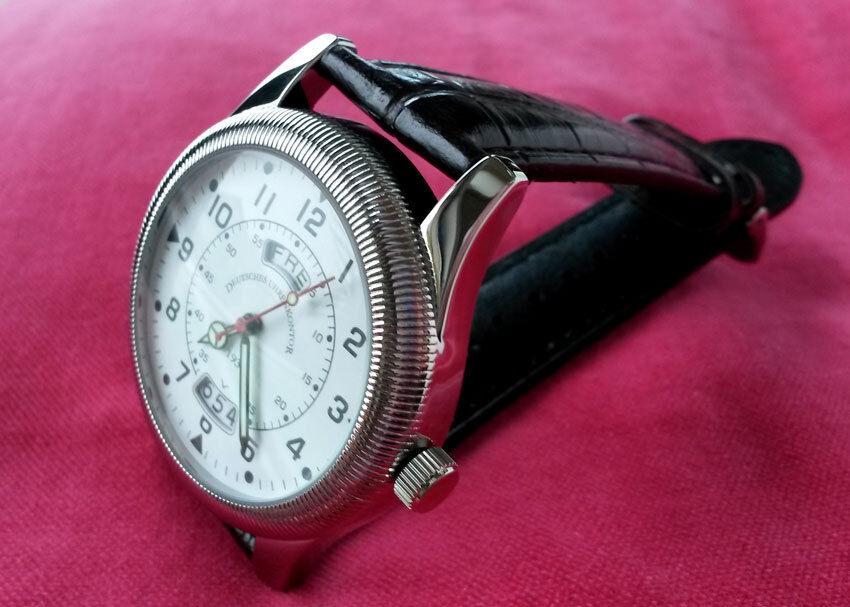 deutsches uhrenkontor 1930 duk fliegeruhr armbanduhr uhr mit uhrwerk by citizen ebay. Black Bedroom Furniture Sets. Home Design Ideas