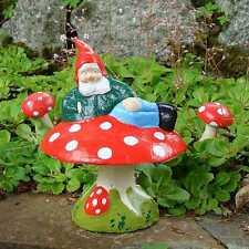 Garden Gnome ~ Clive ~ Handmade by Pixieland (Concrete)