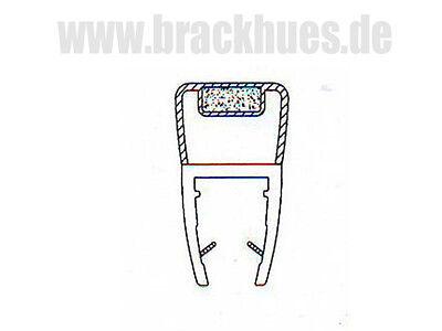 Duschdichtung Duschtürdichtung Ersatzdichtung 1Satz Magnetprofil 180° (2 X 90°)