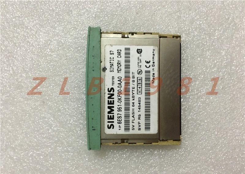 ONE USED- Siemens 6ES7 951-0KF00-0AA0 Memory Card
