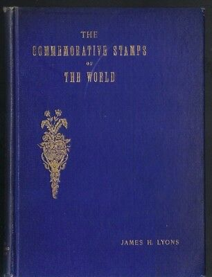 1914 Philatelic-literature The Commemorative Stamps Of The World James H Lyons