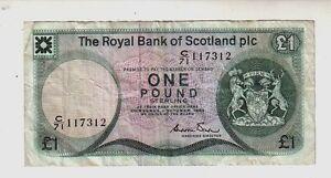Scozia-Scotland-1-pound-1983-BB-VG-Pick-341b-lotto-1239