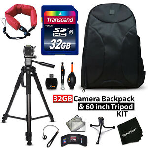 32GB + BACKPACK Kit for Canon EOS Rebel T6i w/ 32GB Memory + BACPK + MORE