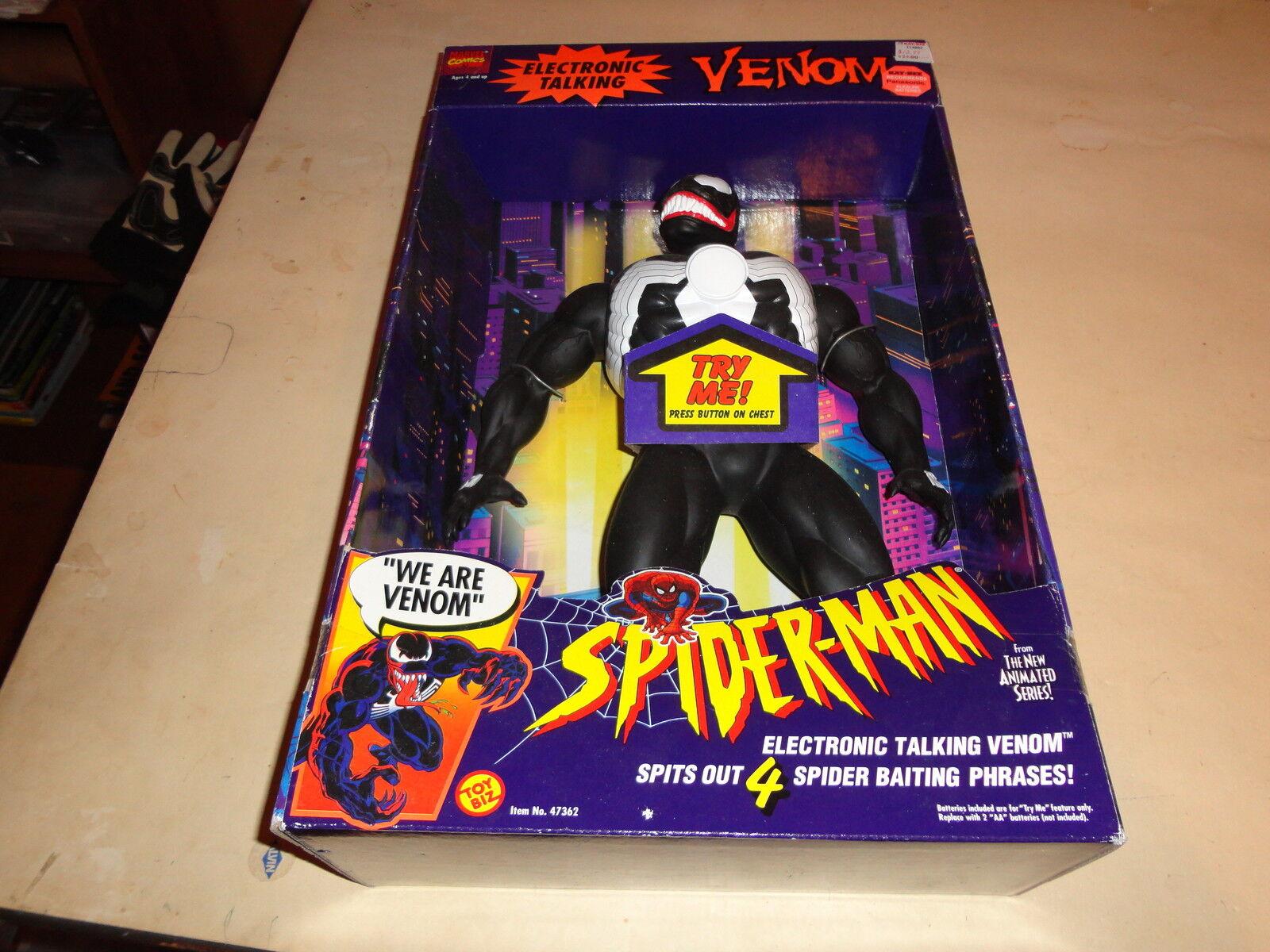 Electronic talking venom 15   1994 toybiz