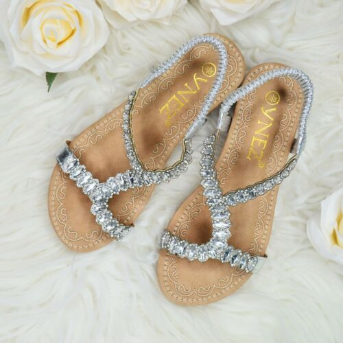 Toddler Girls Diamante Summer Sandals Wedge Heel Open toe Strappy Shoes Padded
