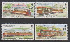 Isle-von-Mann-1993-Elektrisch-Eisenbahn-Set-MNH-Sg-559-62