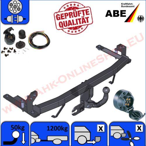 komplett F08 F68 AHK /& ES7 Opel Corsa C Bj 00-06 Anhängerkupplung mit E-Satz
