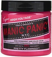 Manic Panic Semi-permanent Hair Color Cream, Pretty Flamingo 4 Oz (pack Of 8) on sale