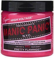 Manic Panic Semi-permanent Hair Color Cream, Pretty Flamingo 4 Oz (pack Of 8) on sale