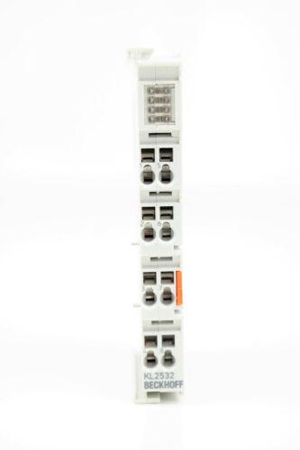 Beckhoff KL 2532 2-Channel DC Motor-Power Amplifier kl2532 2-Channel DC motor output