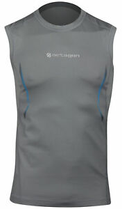 UFC Mens Exo Sleeveless Rashguard - Gray