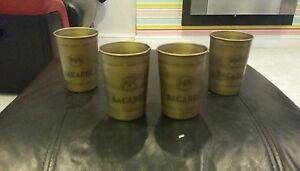 6-x-BACARDI-CUBA-LIBRE-METAL-CUPS-BRAND-NEW-HOME-PUB-BAR-MANCAVE-GIFT-PARTY