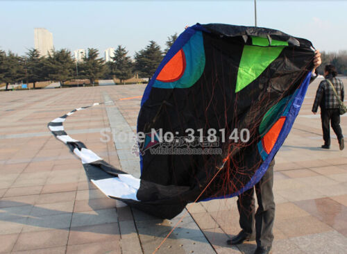 40 metros 3D Stunt huge snake POWER Sport Kite outdoor toy free shipping aaa