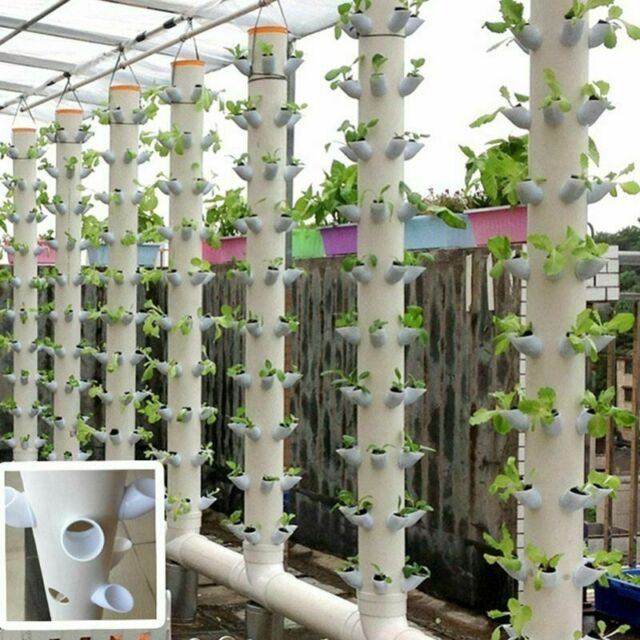 40Pcs DIY Hydroponic Pots for Vertical Tower Growing ...