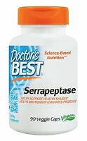 Doctors Best Best Serrapeptase 40, 000 Units, 90-count