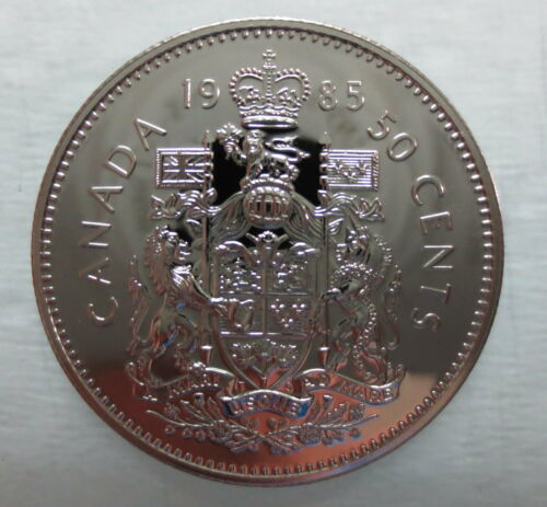 1985 CANADA 50 CENTS PROOF-LIKE COIN