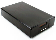 Black Aluminum Enclosure/ Amplifier Chassis/ DAC Decoder Board Case For ES9018