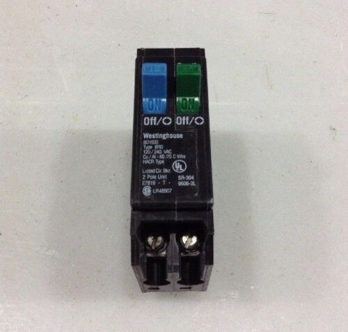 BD1530 WestingHouse Duplex 1 Pole 15 Amp 30 Amp 120//240V Circuit Breaker NEW!!